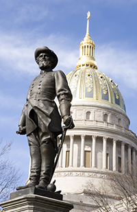 West Virginia - Stonewall Jackson Statue